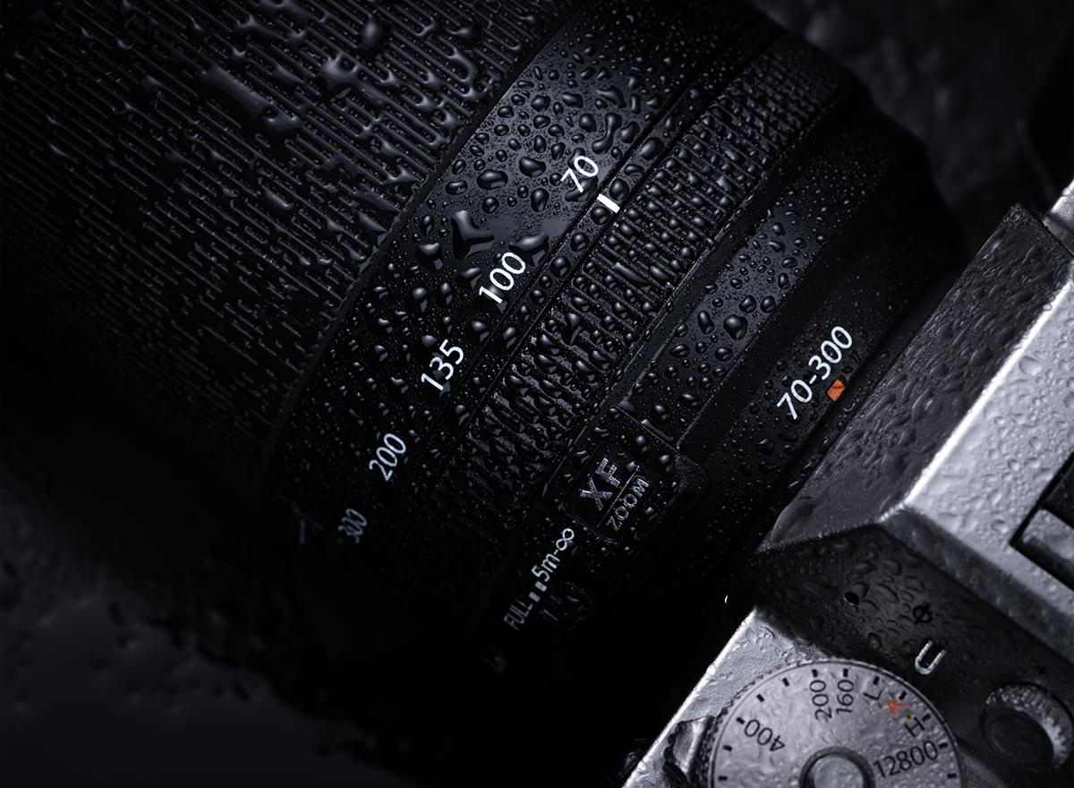 Fujinon XF 70-300mm f/4-5.6 R LM OIS WR с камерой