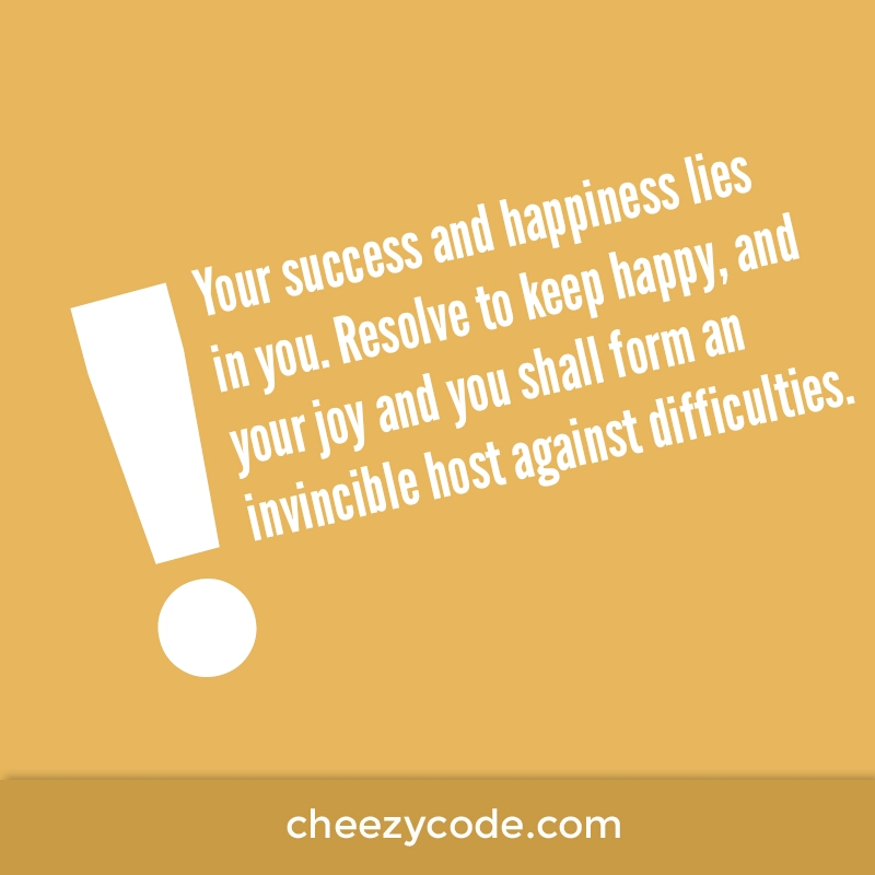Quotes For Success And Happiness: Success Quote 6