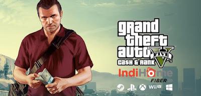 Cara main GTA V online dengan Indihome
