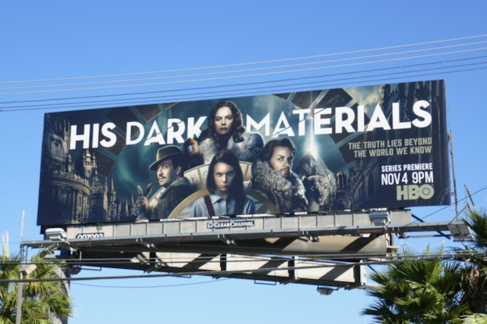 His Dark Materials TV series billboard