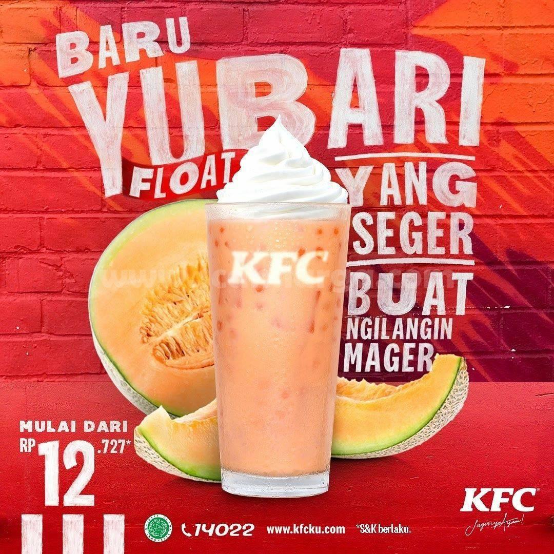Promo KFC YUBARI FLOAT Harga mulai Rp. 12.727 Aja 2