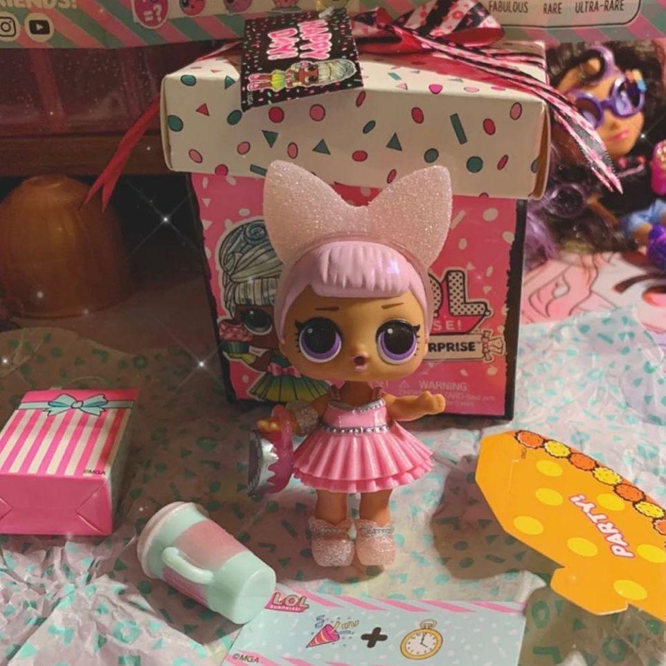 Редкая кукла Pearl Q.T. L.O.L. Surprise Present Surprise 2020