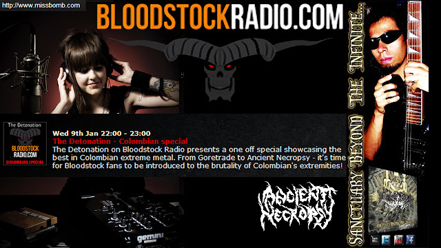 Top 10 The best colombian metal Music  Bloodstock Radio United Kingdom, Top 1