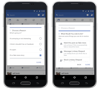 Fitur Facebook Terbaru Untuk Melaporkan Berita Hoax