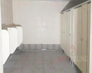 Cubicle Toilet Di Transmart Pekalongan