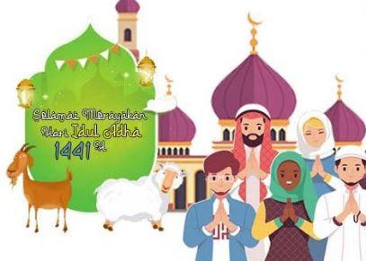 10 Gambar Ucapan Selamat Hari Raya Idul Adha 2020 1441 H Terbaru Review Teknologi Sekarang