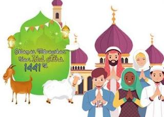 ucapan selamat hari raya idul adha 2020-1441h_31 juli 2020