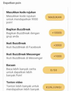 mendapatkan penghasilan di aplikasi buzzbreak