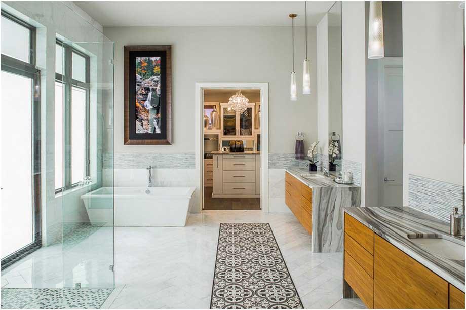 Moderne Japanische Badezimmer Stil Tiefe Wanne Und überdimensionierte