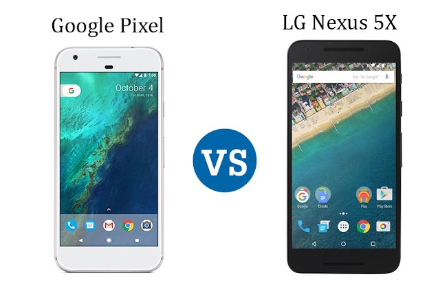 Google Pixel VS. LG Nexus 5X Compare Feature