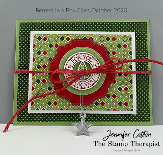 Gift Giving Class!  Sign up by October 18, 2020!  #StampinUp #StampTherapist