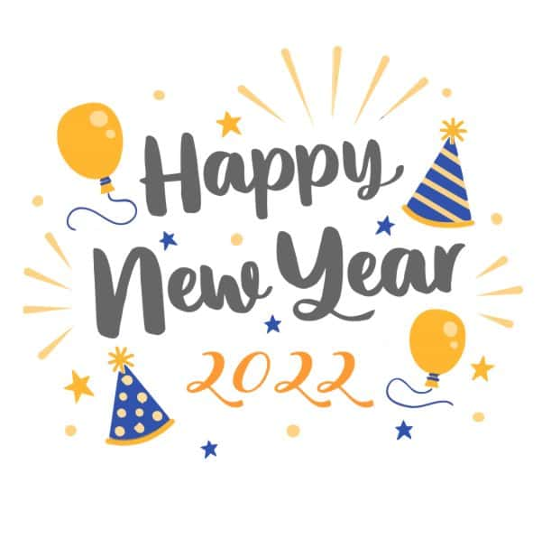 2022 Happy new year messages for Friends