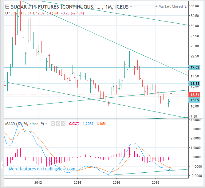 SUGAR #11 Futures Price Forecast (ICE US: SB) - Long Term BUY(Long)