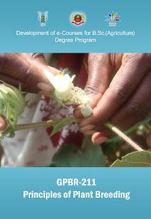 Principles Of Plant Breeding ICAR E course Free PDF Book Download e krishi shiksha