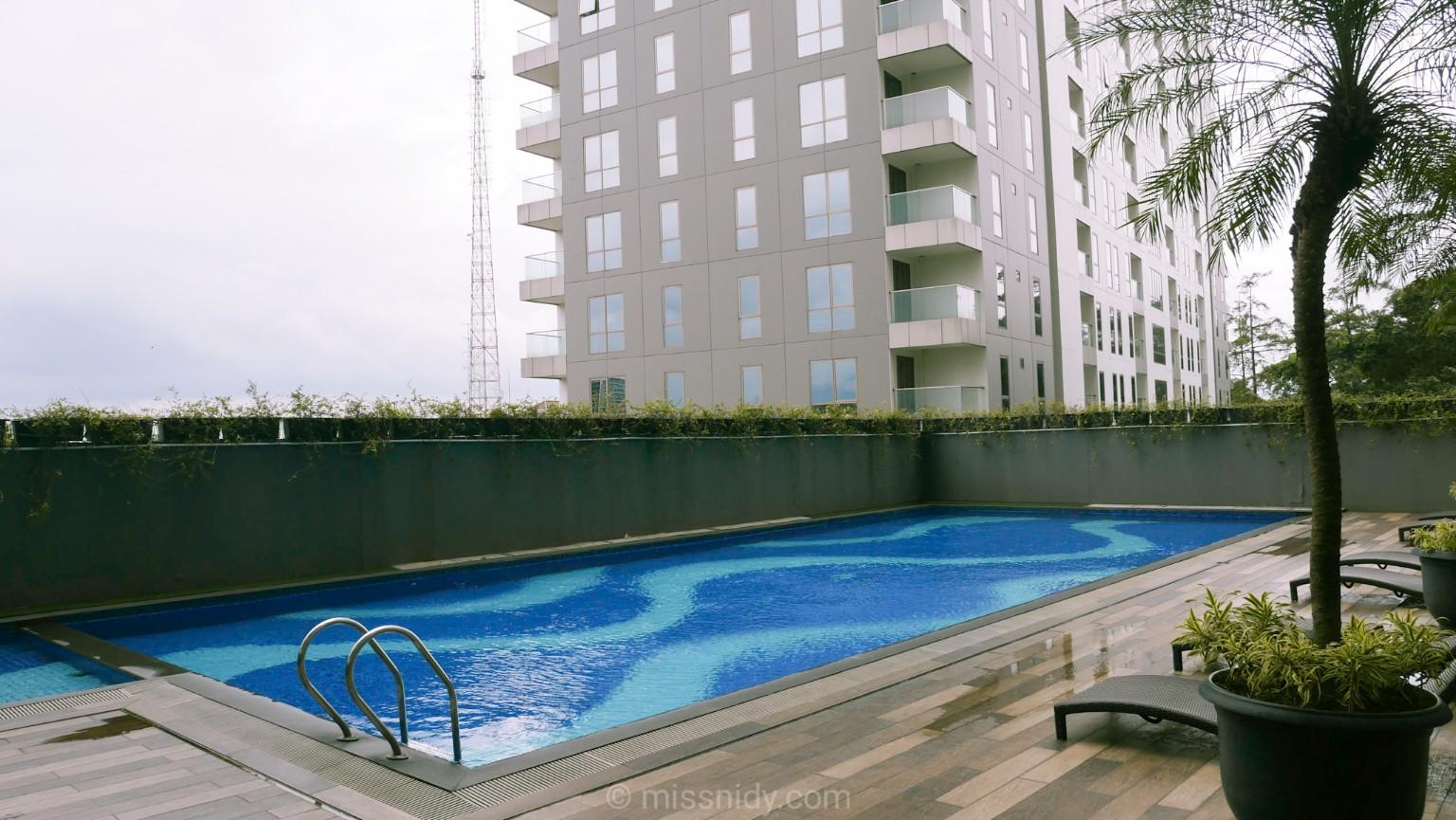 airbnb di bandung dengan kolam renang