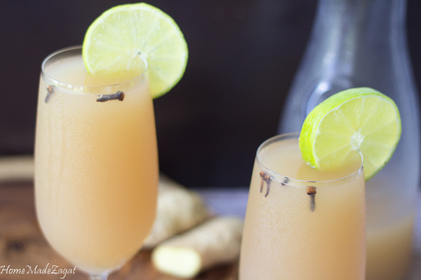 Trinidad Homemade Ginger Beer