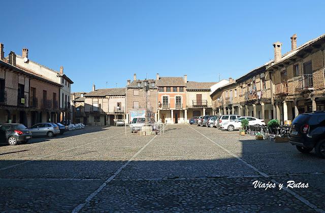 Plaza vieja de Saldaña