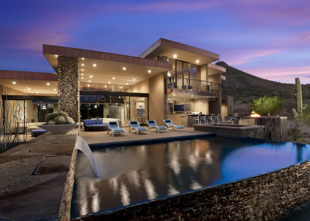 World of Architecture: Beautiful Modern House In Desert