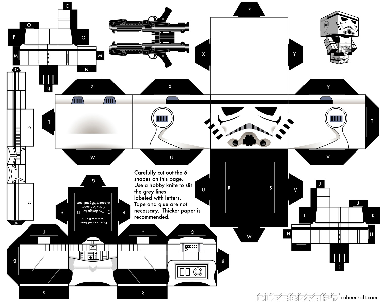 Lsd Magazine Cubeecraft Paper Toys To Cut Out And Build