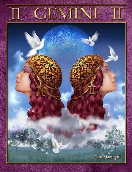 Tarot Musings Using Tarot Reversals: Tarot Musings: Gemini The Twins