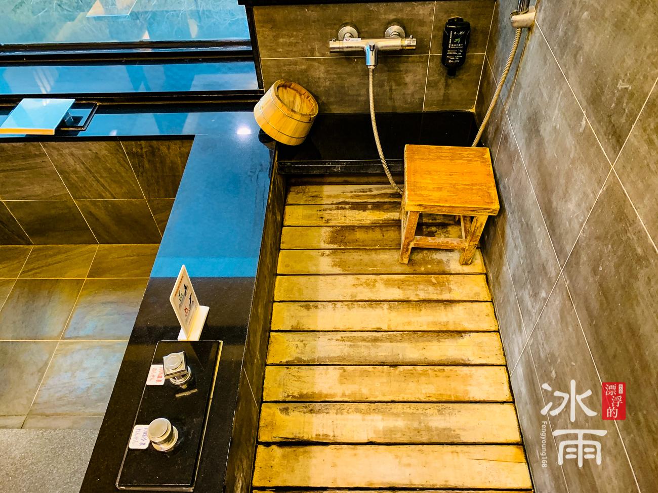 泰安湯悅溫泉會館|淋浴區