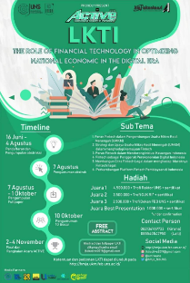 Lomba Karya Tulis Ilmiah (LKTI) Nasional ACTIVE (Accounting Society in Versatility) 2019