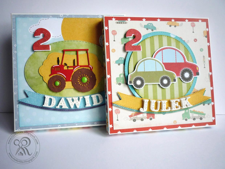 Kartki dla dwulatków