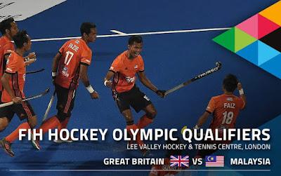 Live Streaming Great Britain vs Malaysia Kelayakan Hoki Sukan Olimpik 3.11.2019