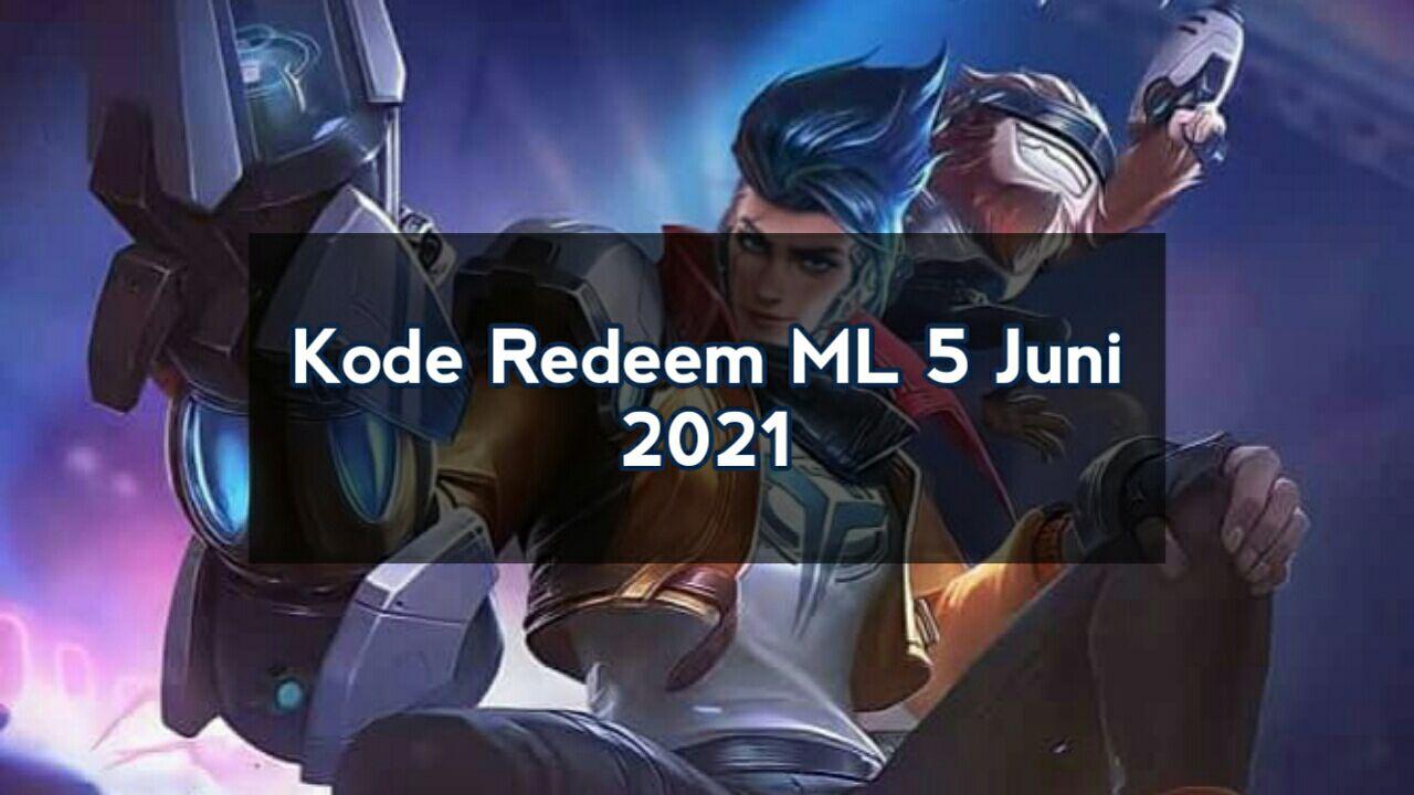 Redeem ML code June 5th, 2021