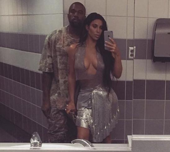 Kim Kardashian Nude Selfie Bathroom