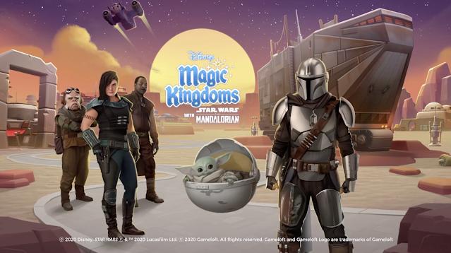 Disney Magic Kingdoms The Mandalorian Event Screen Star Wars