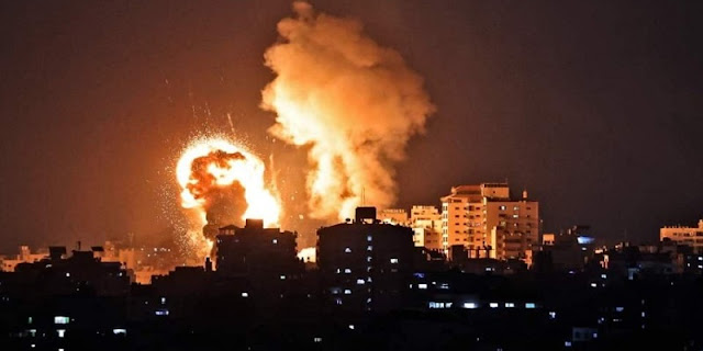 Balas Kiriman Balon Api, Israel Bombardir Pabrik Senjata Hamas Di Gaza