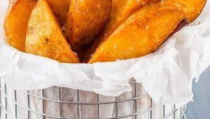 #Monday #Recipe #Seasoned #Baked #Potato #Wedges