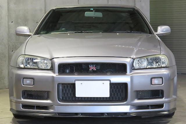 1999 NISSAN SKYLINE R34 GTR V-SPEC For Sale at Toprank Global