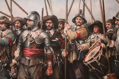 Soldados españoles del siglo XVI