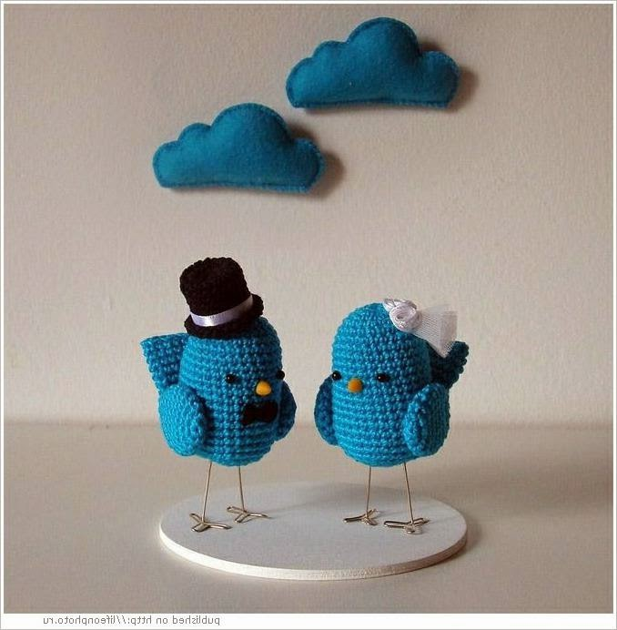 Игрушки, связанные крючком.  Toys crocheted