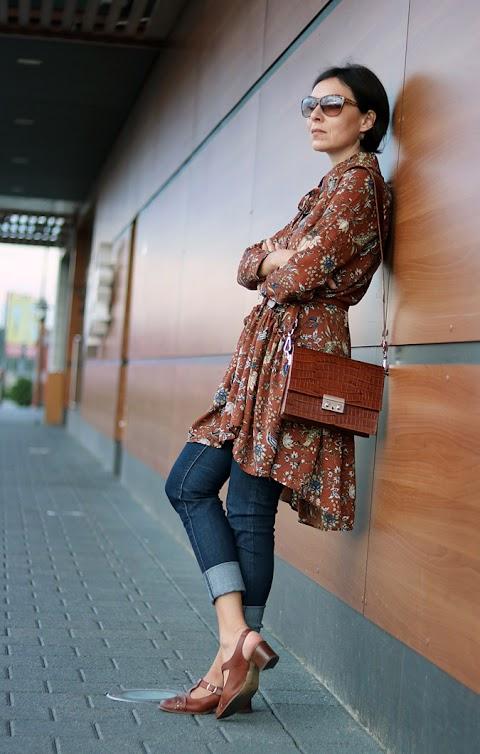 Sukienka (tunika) do spodni