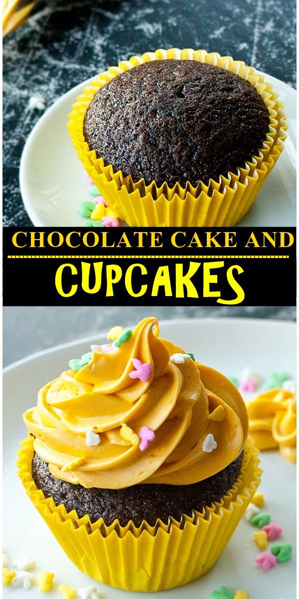 CHOCOLATE CAKE AND CUPCAKES