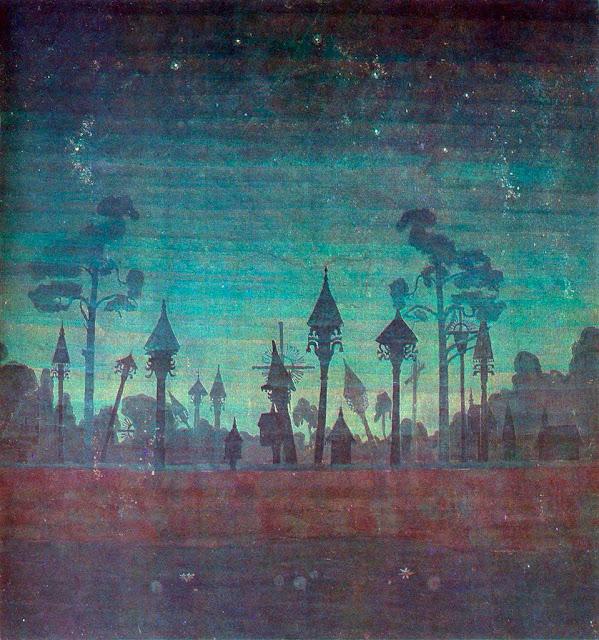 Чюрлёнис Микалоюс Константинас - Литовское кладбище. 1909