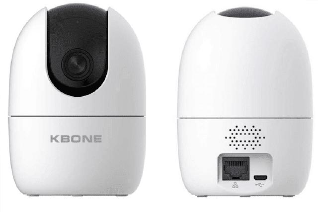 Review camera KBONE KN-H21P dòng camera wifi thế hệ mới phù hợp với mọi gia đình
