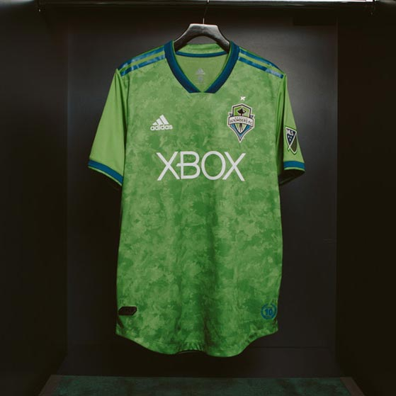 hot sale online 00ca6 b61d9 Seattle Sounders 2018 Home Kit Revealed - Footy Headlines
