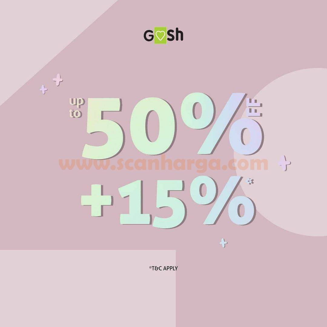 GOSH SHOES Promo Special Offer – Discount Up to 50% + 15% Off