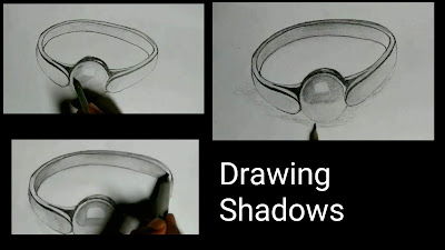 How to draw pearl ring drawing, step by step tutorial for to draw ring, drawing tips and tricks, easy drawing, drawing for kids