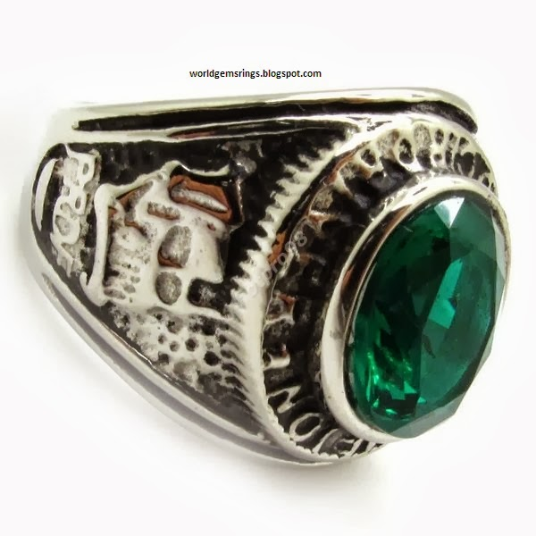 Engagement Ring Green Sapphire Men Super Engagement Rings 54