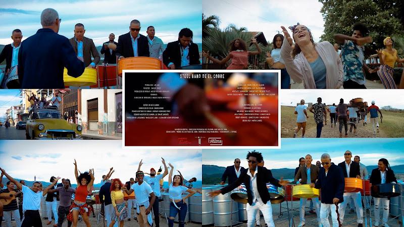 Steel Band de El Cobre - ¨Bacalao con pan¨ - Videoclip - Director: Carlos Gómez. Portal Del Vídeo Clip Cubano. Música popular bailable cubana. CUBA.