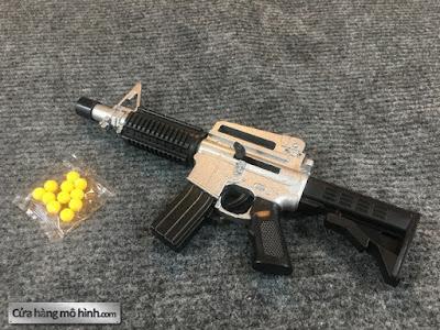 súng mô hình M4A1 mini bắn đạn bi
