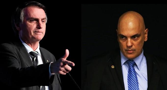 Bolsonaro protocola pedido de impeachment do ministro Alexandre de Moraes