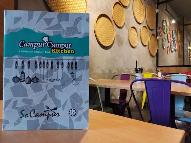 CAMPUR CAMPUR KITCHEN, DPULZE PUTRAJAYA FUSION SOCAMPUR IN MALAYSIAN STYLE