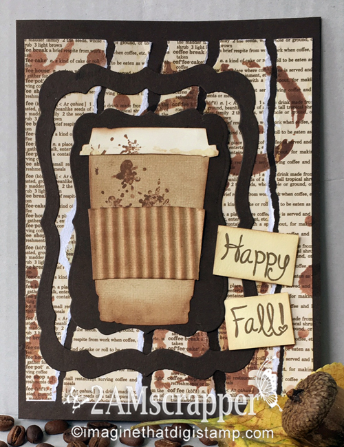 Lotsa scrap from 2amscrapper coffee card for fall coffee for Design 911 discount code