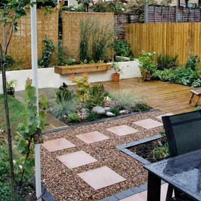 10 Ideas Grandes Para Jardines Pequenos Disenos De Jardines - Patios-jardines-pequeos